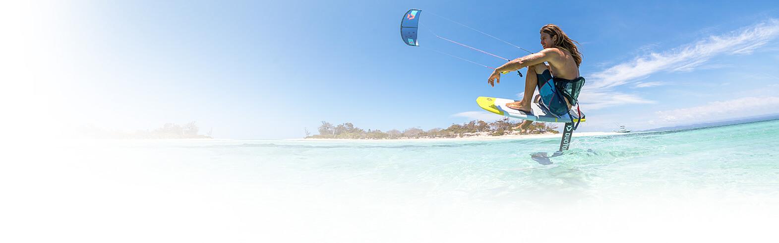 Kitesurfing Banner