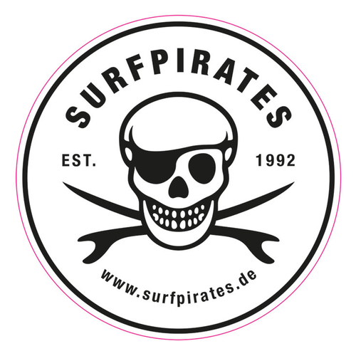 Surfpirates Sticker