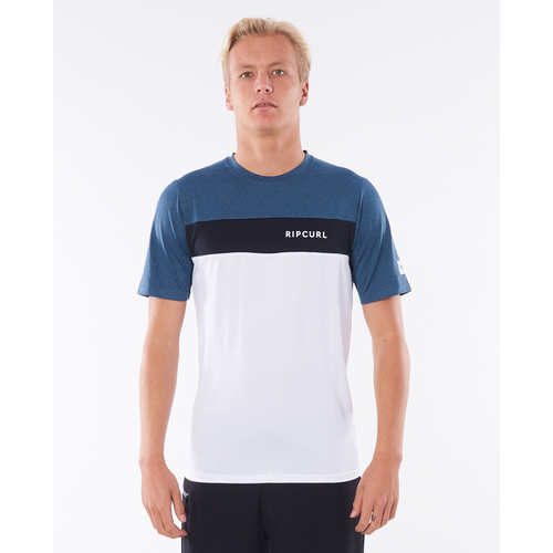 Rip Curl Underline Panel Short Sleeve UV Tee